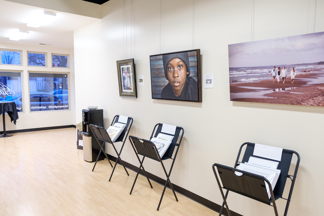 Photography Exhibit in Warsaw, Indiana.