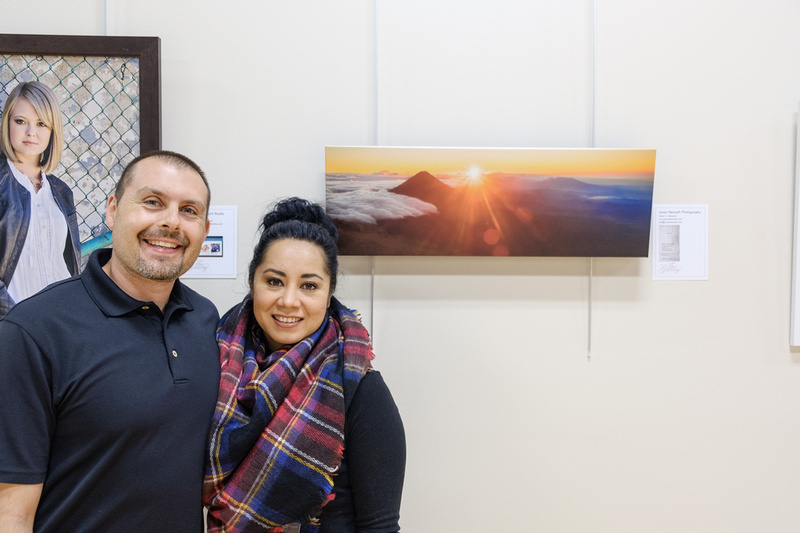Jason and Saida Hemsoth at The Gallery in Warsaw.